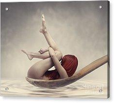 Beauty Bath Acrylic Print by Jelena Jovanovic