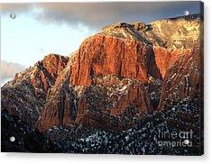 Beauty Of Kolob Canyon  Acrylic Print by Bob Christopher