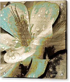 Beauty V Acrylic Print by Yanni Theodorou
