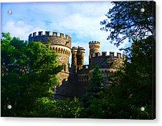 Beaver College Castle - Arcadia University Acrylic Print by Bill Cannon