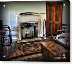 Bedroom - Colonial Style Acrylic Print by Paul Ward