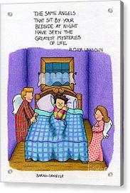 Bedside Vigil Acrylic Print by Sarah Batalka