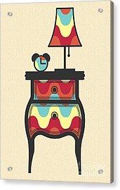 Bedtime Story Acrylic Print by Freshinkstain
