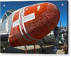 Beech Expeditor Uc-45 - 04 Acrylic Print by Gregory Dyer