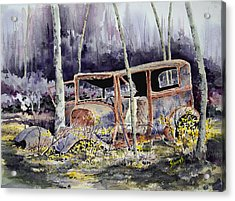 Been There Acrylic Print by Sam Sidders