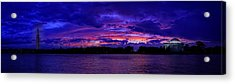 Before The Rain Acrylic Print by Metro DC Photography