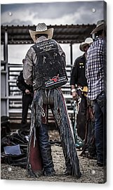 Before The Ride Acrylic Print by Amber Kresge