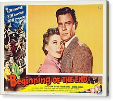 Beginning Of The End 1957 Acrylic Print by Mountain Dreams