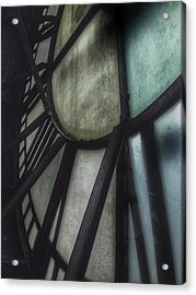 Behind The Clock - Emerson Bromo-seltzer Tower Acrylic Print by Marianna Mills