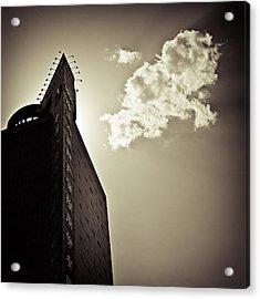 Beijing Cloud Acrylic Print by Dave Bowman