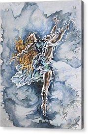 Believe Acrylic Print by Karina Llergo