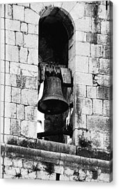 Bell Tower Valbonne Abbey Acrylic Print by Christine Till