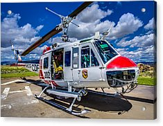 Bell Uh-1super Huey Close-up Acrylic Print by Scott McGuire