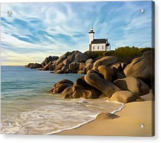 Belle Isle Light Acrylic Print by James Charles