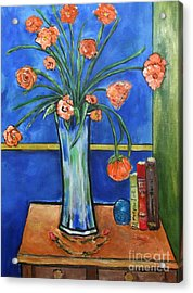 Bellini Acrylic Print by Chaline Ouellet