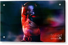 Ben Affleck Daredevil Acrylic Print by Marvin Blaine