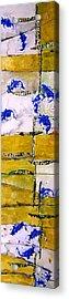 Ben And Jewel Panel 3 Acrylic Print by Sandra Gail Teichmann-Hillesheim