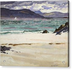 Ben Bhuie From The North End   Iona Acrylic Print by Francis Campbell Boileau Cadell