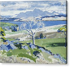 Ben Cruachan From Achnacraig Acrylic Print by Francis Campbell Boileau Cadell