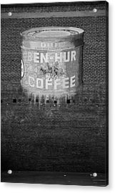 Ben Hur Coffee Acrylic Print by Peter Tellone