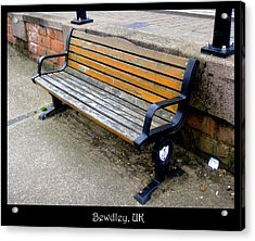 Benches Acrylic Print featuring the photograph Bench 11 by Roberto Alamino