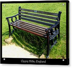 Benches Acrylic Print featuring the photograph Bench #18 by Roberto Alamino
