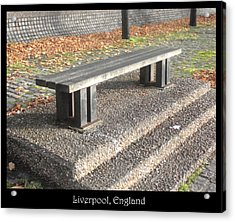 Benches Acrylic Print featuring the photograph Bench #19 by Roberto Alamino