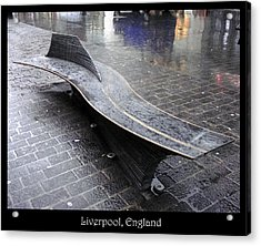 Benches Acrylic Print featuring the photograph Bench #20 by Roberto Alamino