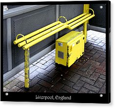 Benches Acrylic Print featuring the photograph Bench #21 by Roberto Alamino