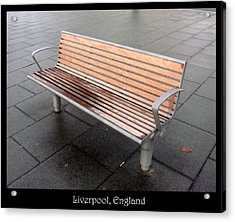 Benches Acrylic Print featuring the photograph Bench #23 by Roberto Alamino