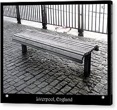Benches Acrylic Print featuring the photograph Bench #25 by Roberto Alamino