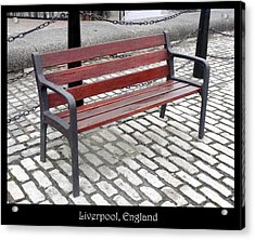 Benches Acrylic Print featuring the photograph Bench #26 by Roberto Alamino