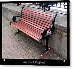 Benches Acrylic Print featuring the photograph Bench #27 by Roberto Alamino