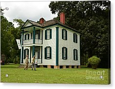 Confederate Head Quarters Acrylic Print by Bob Sample