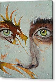 Beowulf Acrylic Print by Michael Creese