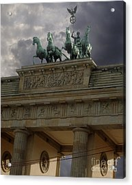 Berlin - Brandenburg Gate Acrylic Print by Gregory Dyer