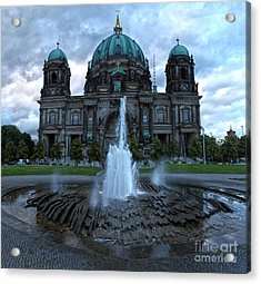 Berlin - Cathedral Acrylic Print by Gregory Dyer