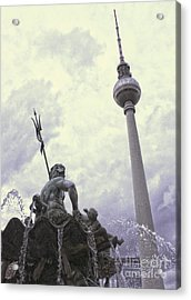Berlin - Berliner Fernsehturm - Radio Tower No.04 Acrylic Print by Gregory Dyer