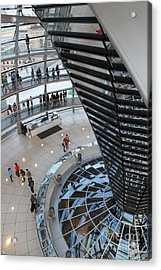 Berlin - Reichstag Roof - No.06 Acrylic Print by Gregory Dyer