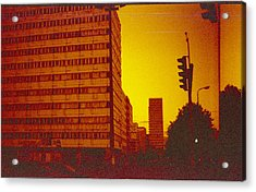 Berlin Street Ddr Acrylic Print by Juan  Bosco