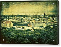 Berlin - Stylized To Old Acrylic Print by Gynt