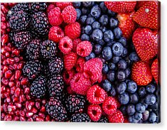 Berry Delicious Acrylic Print by Teri Virbickis