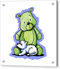 Best Buddies Come In All Sizes Acrylic Print by Kim Niles