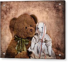 Besties Acrylic Print by Tom Mc Nemar