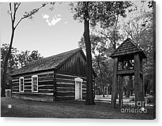 Bethel College Indiana Taylor Memorial Chapel Acrylic Print by University Icons