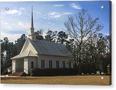 Bethel United Methodist Church Acrylic Print by Steven  Taylor