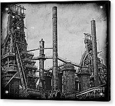 Bethlehem Steel #3 Acrylic Print by Marcia Lee Jones
