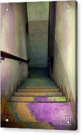 Between Floors Acrylic Print by RC deWinter