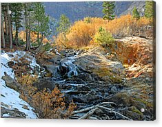 Between The Virginias Acrylic Print by Lynn Bauer