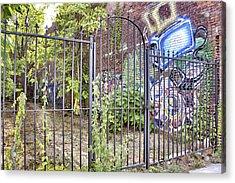 Beyond The Gate Acrylic Print by Jason Politte